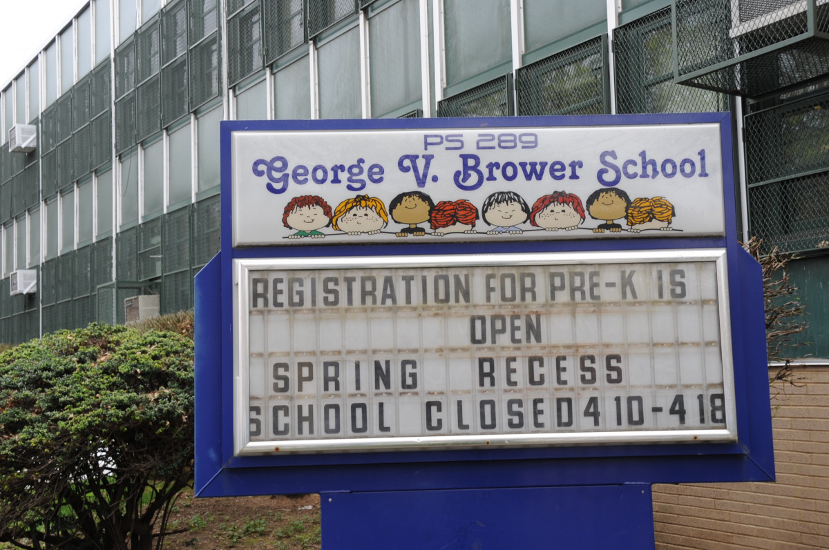 P.S. 289 George V. Brower School