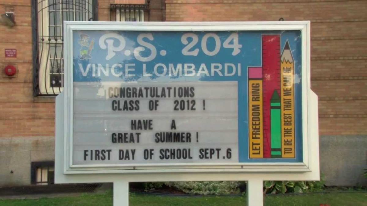 P.S. 204 Vince Lombardi School